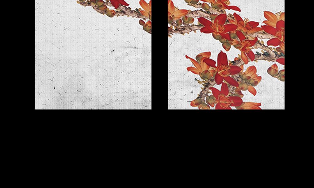 新中式花鸟装饰画
