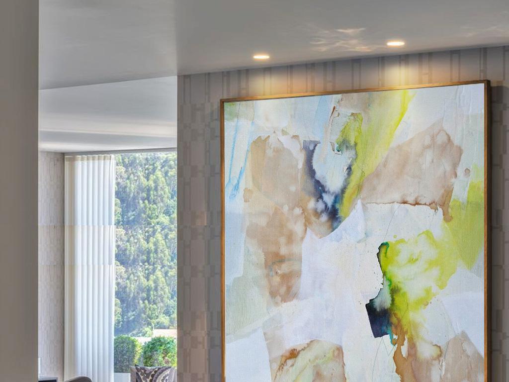 一点透视客厅布艺手绘