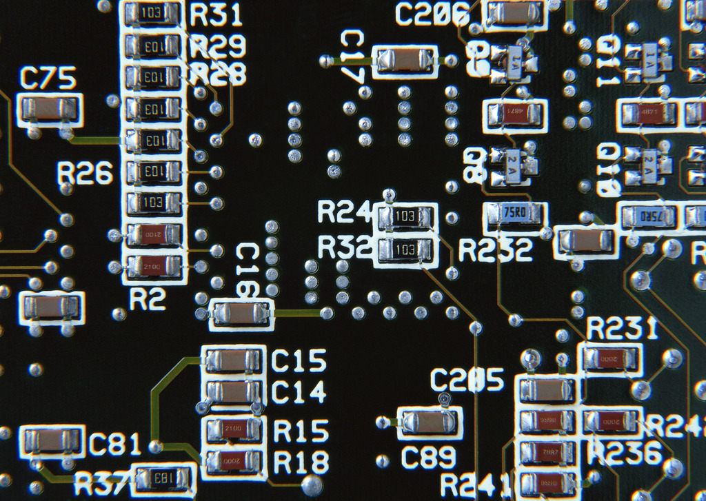 精密电子电路电路板芯片电子科技术