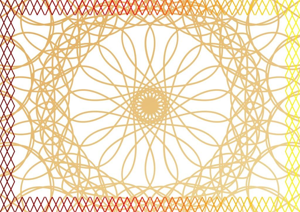 橘子花手绘素材