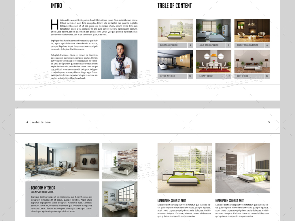 目录册产品手册排版设计模板排版设计排版模板产品手册内页内页产品图片