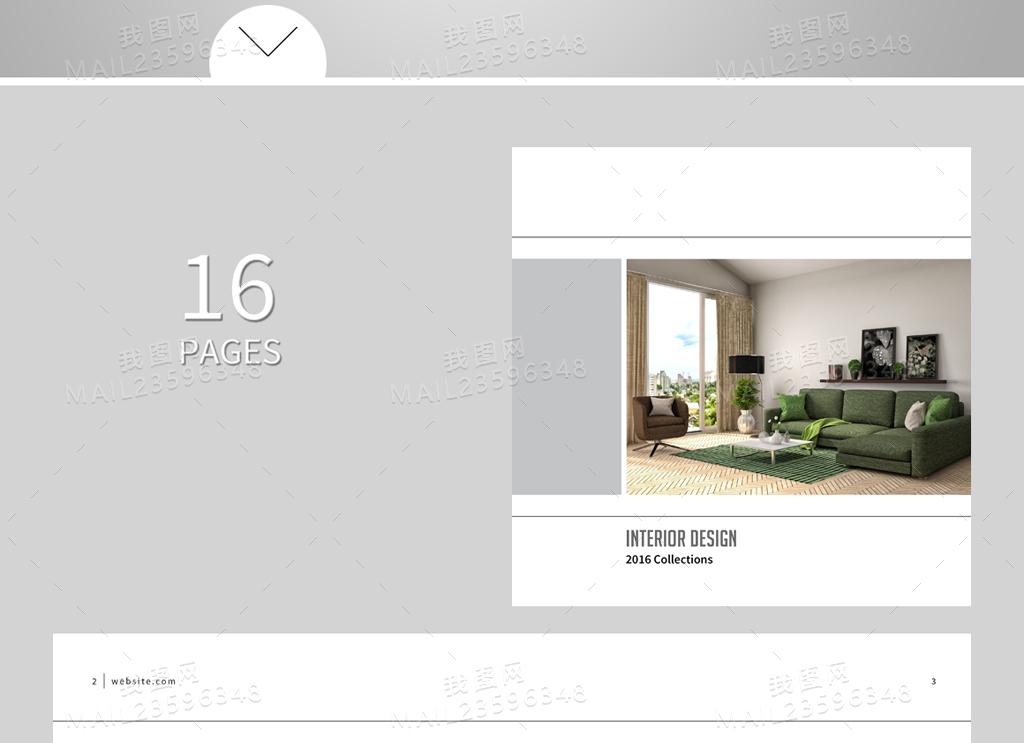 2017年产品手册封面内页排版设计模板图片