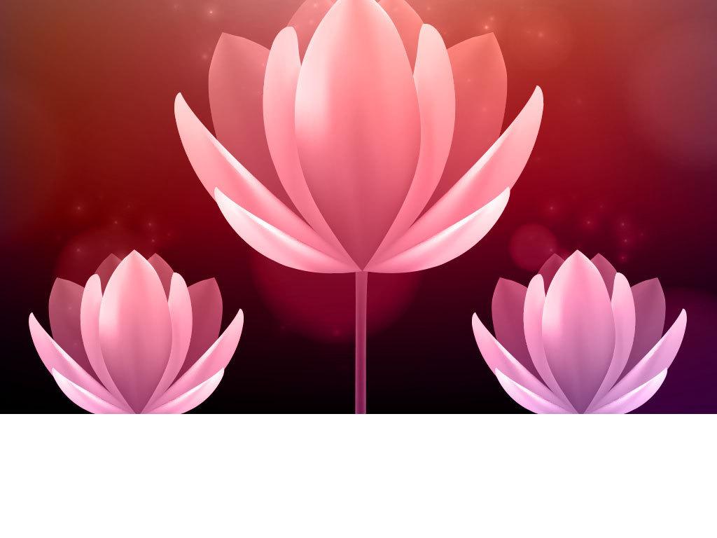 彩色卡通花朵花纹装饰图(图片编号:15962537)_花卉_我