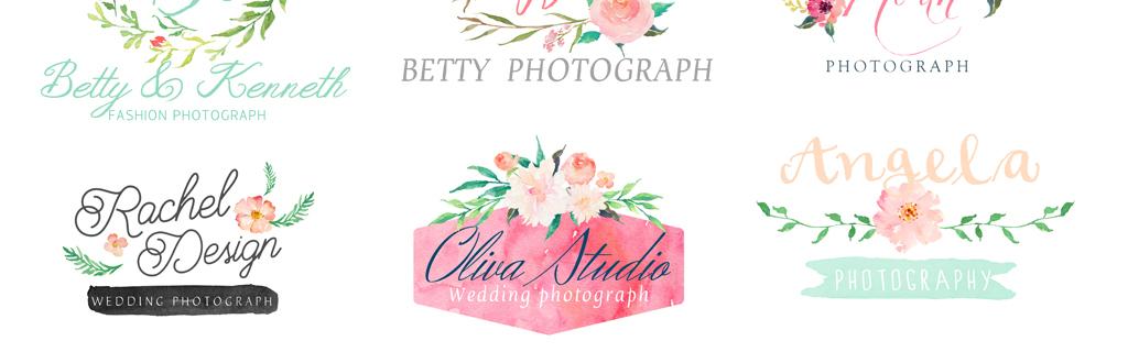 高清婚礼素材水彩手绘花艺植物png免扣素材