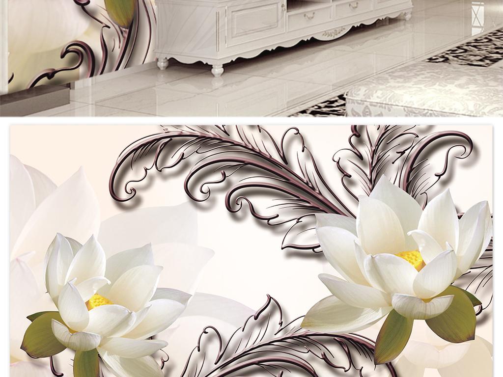 装饰画客厅装饰画黑白装饰画餐厅装饰画线描装饰画