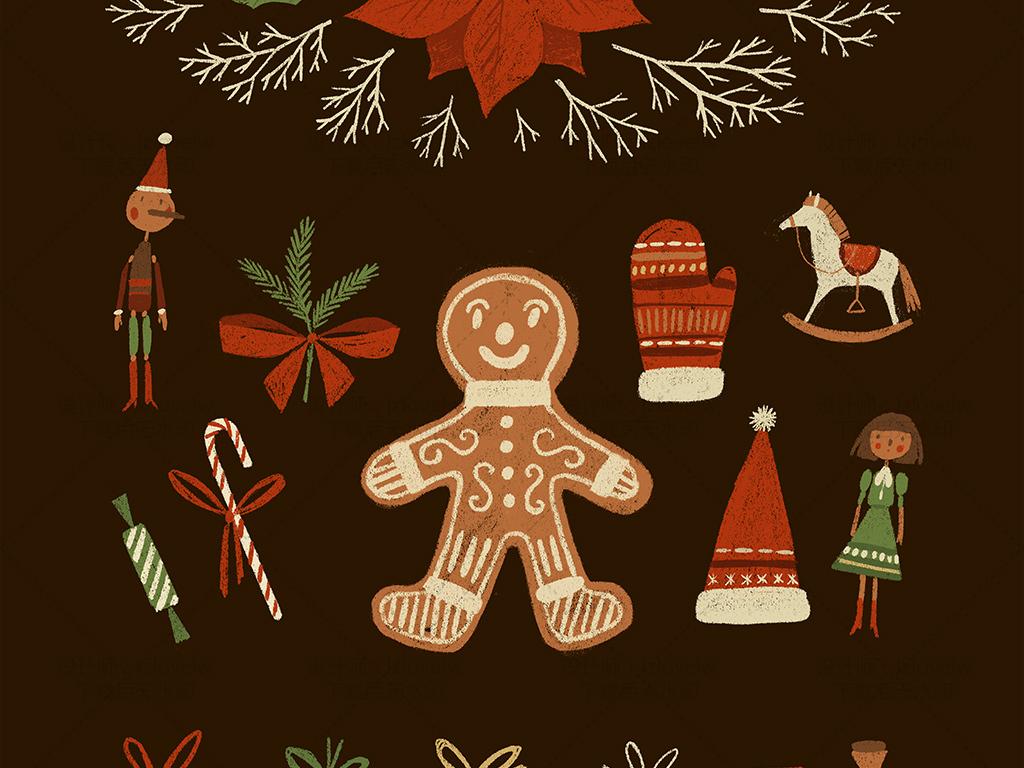 手绘素材素材精选底纹底纹边框底纹背景古典底纹圣诞节花边底纹矢量底