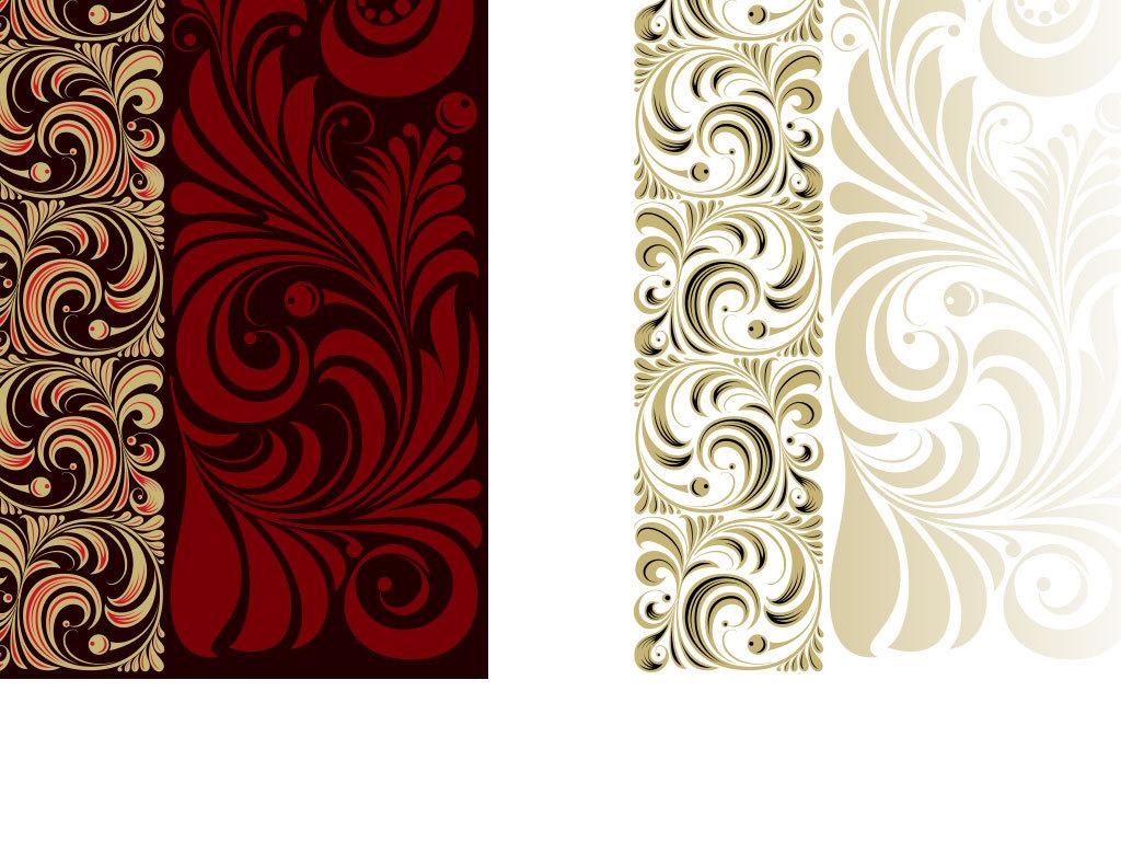 设计元素 自然素材 花卉 > 手绘贺卡鲜花底纹背景图