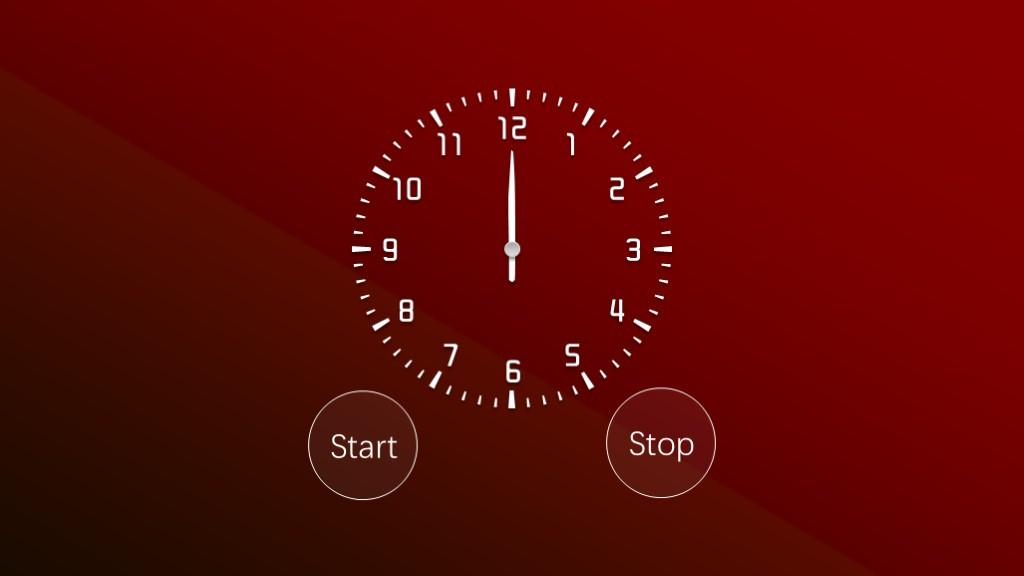 60秒倒计时红色1分钟计时器ppt钟表