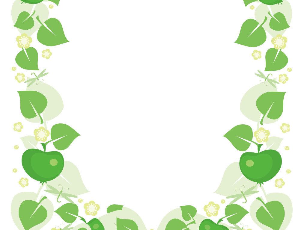 绿色植物婚礼底纹背景图(图片编号:15964215)