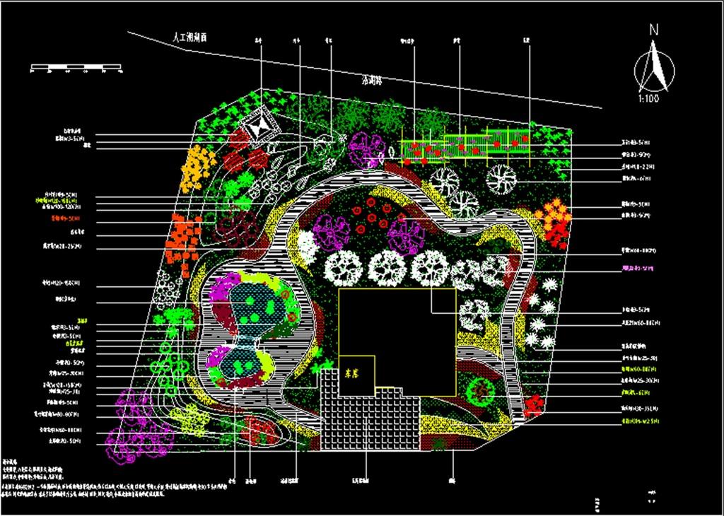 别墅景观设计图纸(图片编号:15965760)