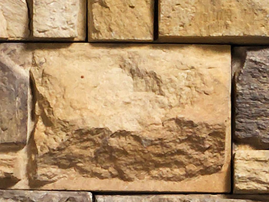 马克笔手绘图片石墙