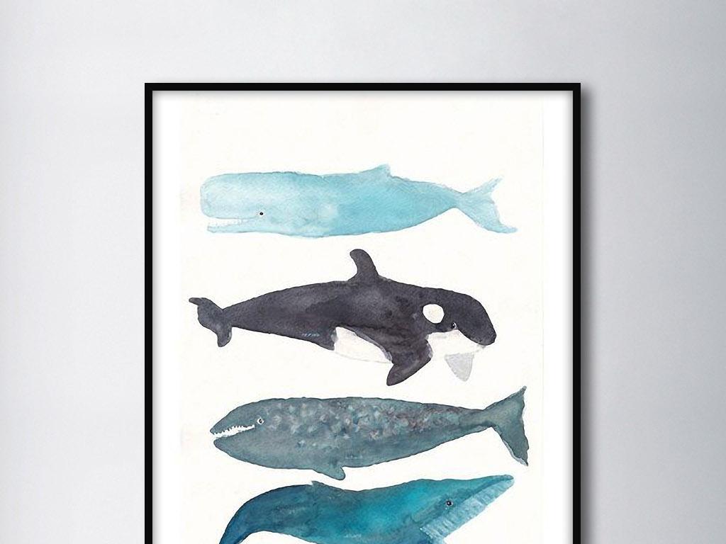 """【本作品下载内容为:""""海洋大型鱼类鲸鱼北欧现代手绘欧式装饰画""""模板,其他内容仅为参考,如需印刷成实物请先认真校稿,避免造成不必要的经济损失。】 【声明】未经权利人许可,任何人不得随意使用本网站的原创作品(含预览图),否则将按照我国著作权法的相关规定被要求承担最高达50万元人民币的赔偿责任。"""