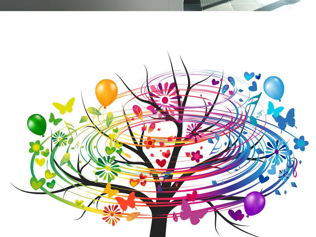 水彩手绘花朵模板文艺