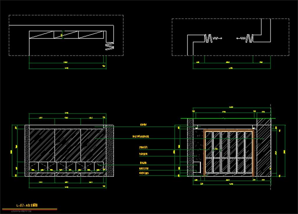 室内装修装饰cad施工设计图