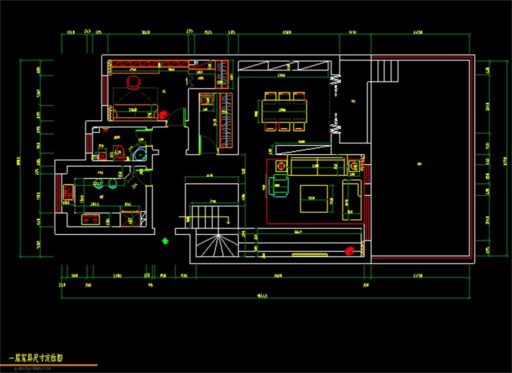 cad图库 室内设计cad图库 cad图纸 > 室内装修装饰cad施工设计图