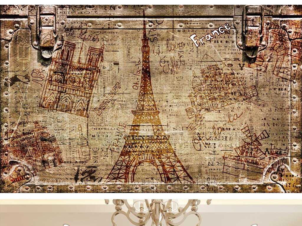 巴黎铁塔巴黎埃菲尔铁塔电力铁塔铁塔女神高压铁塔