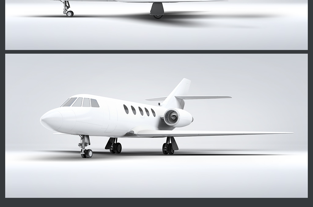 飞机广告展示效果图玻璃贴图贴图3d沙发贴图3d布纹贴