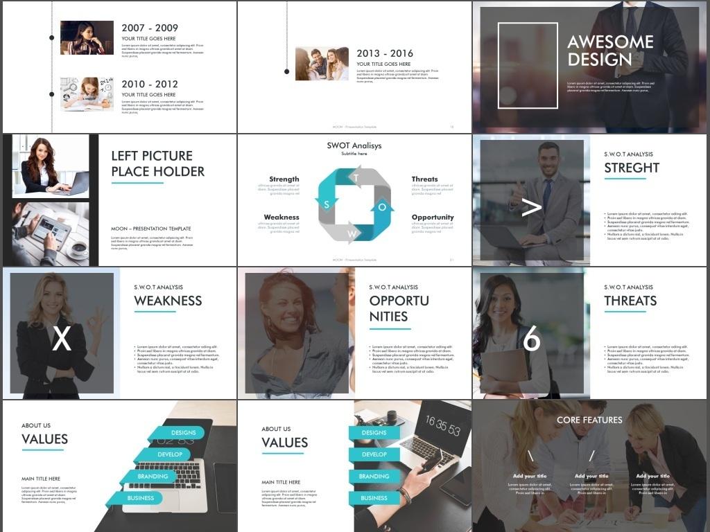 创意时尚公司品牌宣讲广告宣传ppt模板