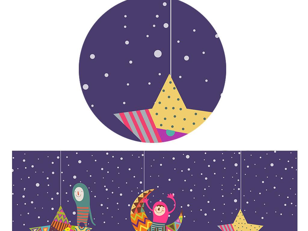 幼儿园卡通月亮图片大全