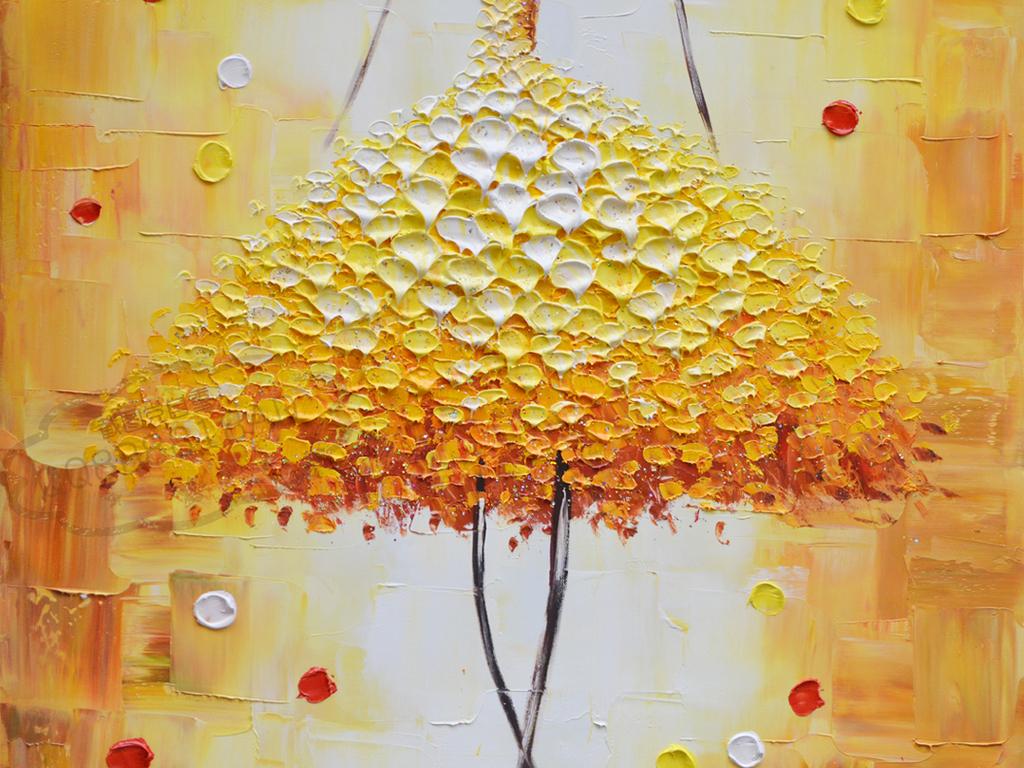 巨幅高清抽象舞者纯手绘油画艺术玄关