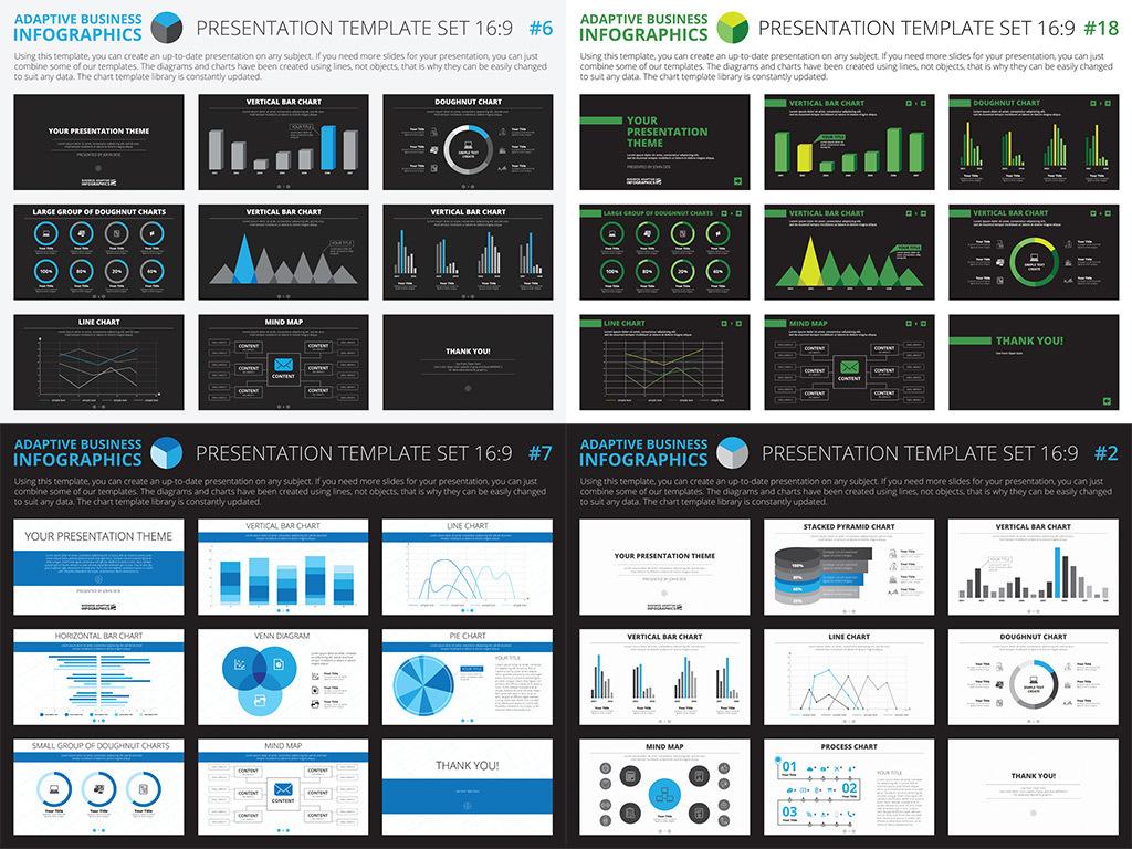 矩阵图设计元素pptppt素材信息数据统计图表信息板
