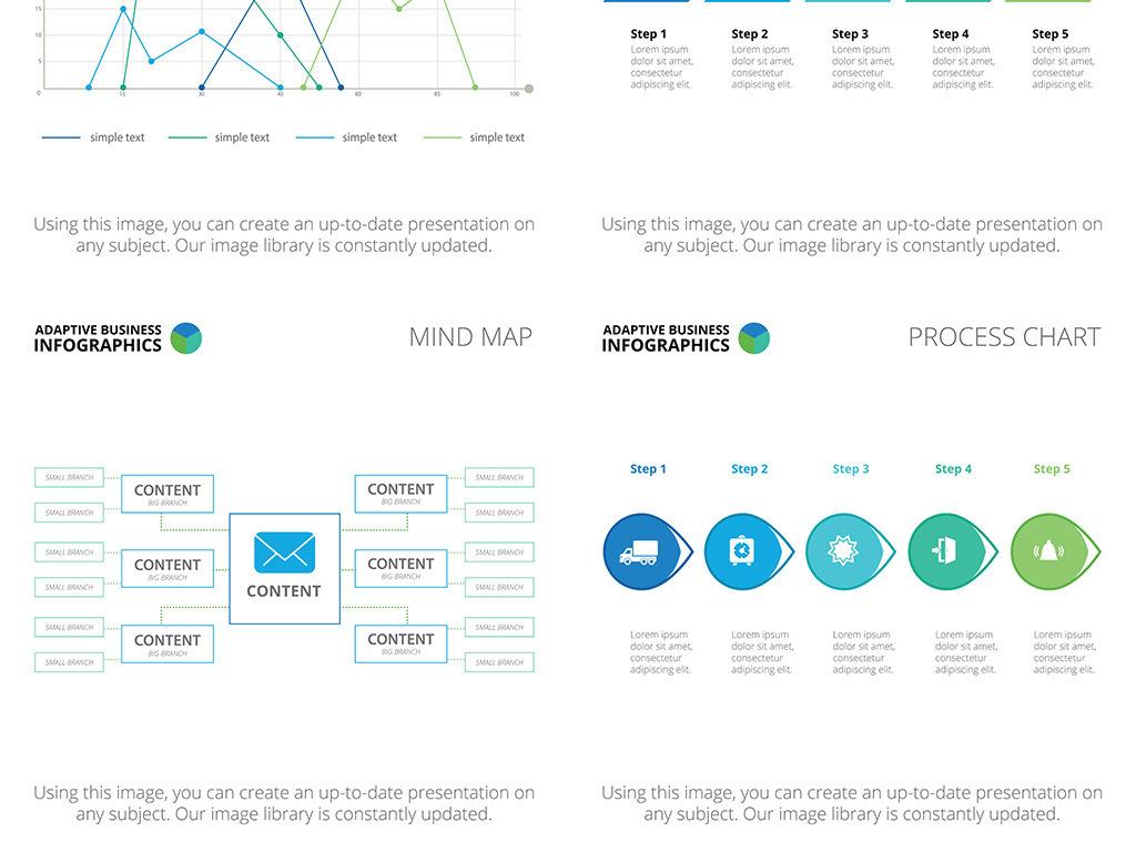 我图网提供精品流行绿色清新商业PPT矢量信息图表素材下载,作品模板源文件可以编辑替换,设计作品简介: 绿色清新商业PPT矢量信息图表 矢量图, RGB格式高清大图,使用软件为 Illustrator CS(.eps)