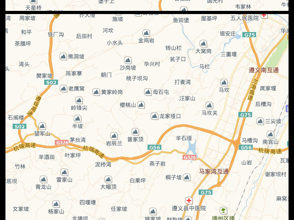 高清新余市电子地图图片素材下载