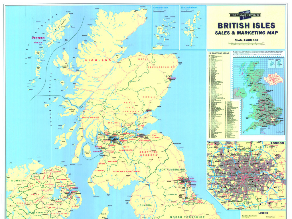 英国地图高清大图