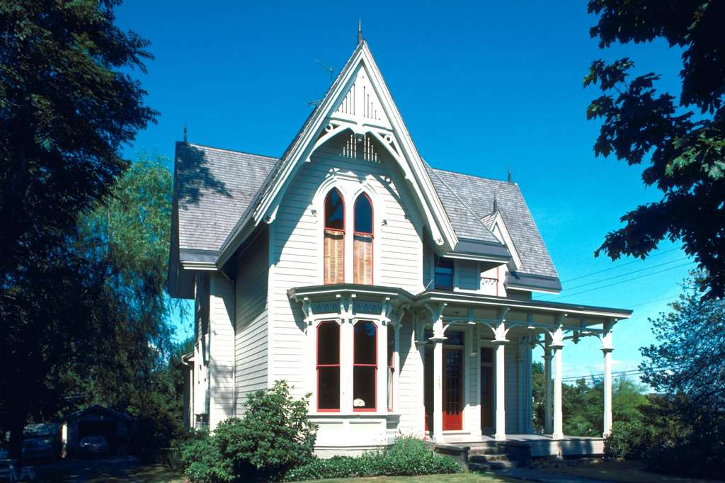 欧式别墅建筑家居房子园林景观豪宅图片