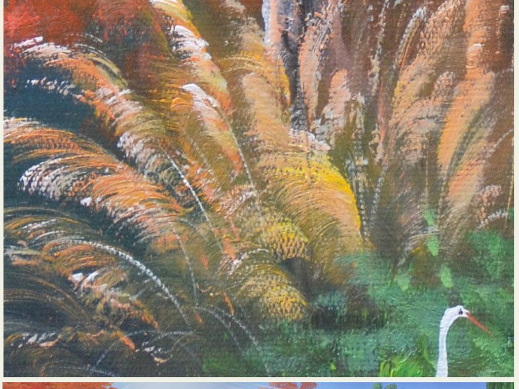 画艺术背景壁画
