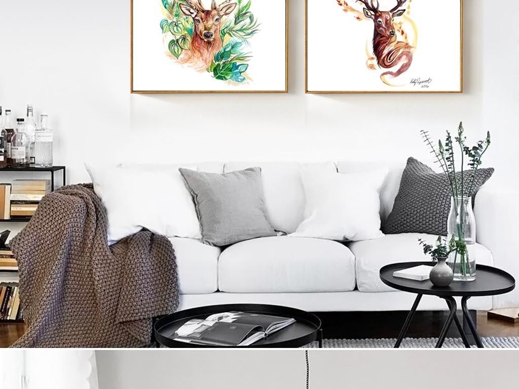 极简黑白装饰画餐厅挂画卧室画抽象创意单幅装饰画咖啡厅画单张挂画图片