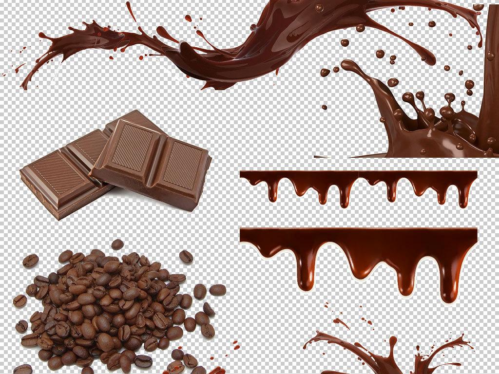 德芙巧克力手绘插画