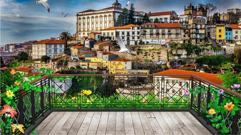 我图网提供精品流行3D阳台欧洲小镇背景素材下载,作品模板源文件可以编辑替换,设计作品简介: 3D阳台欧洲小镇背景 位图, RGB格式高清大图,使用软件为 Photoshop CS6(.psd) 欧式 复古 怀旧 海湾