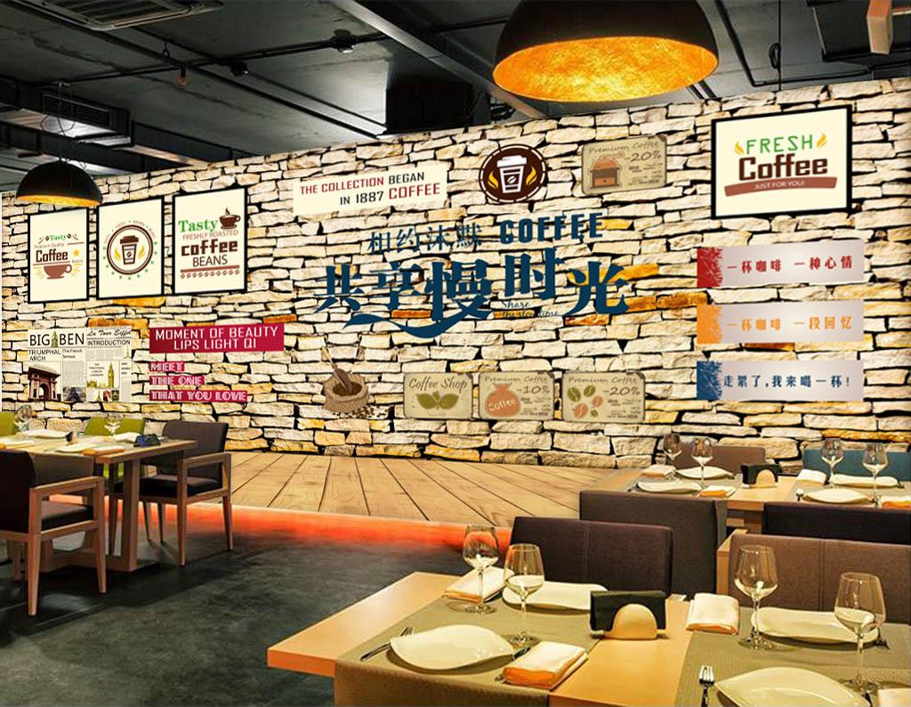 咖啡店西餐厅时尚面包黑板樱桃简约手绘面包店甜品蛋