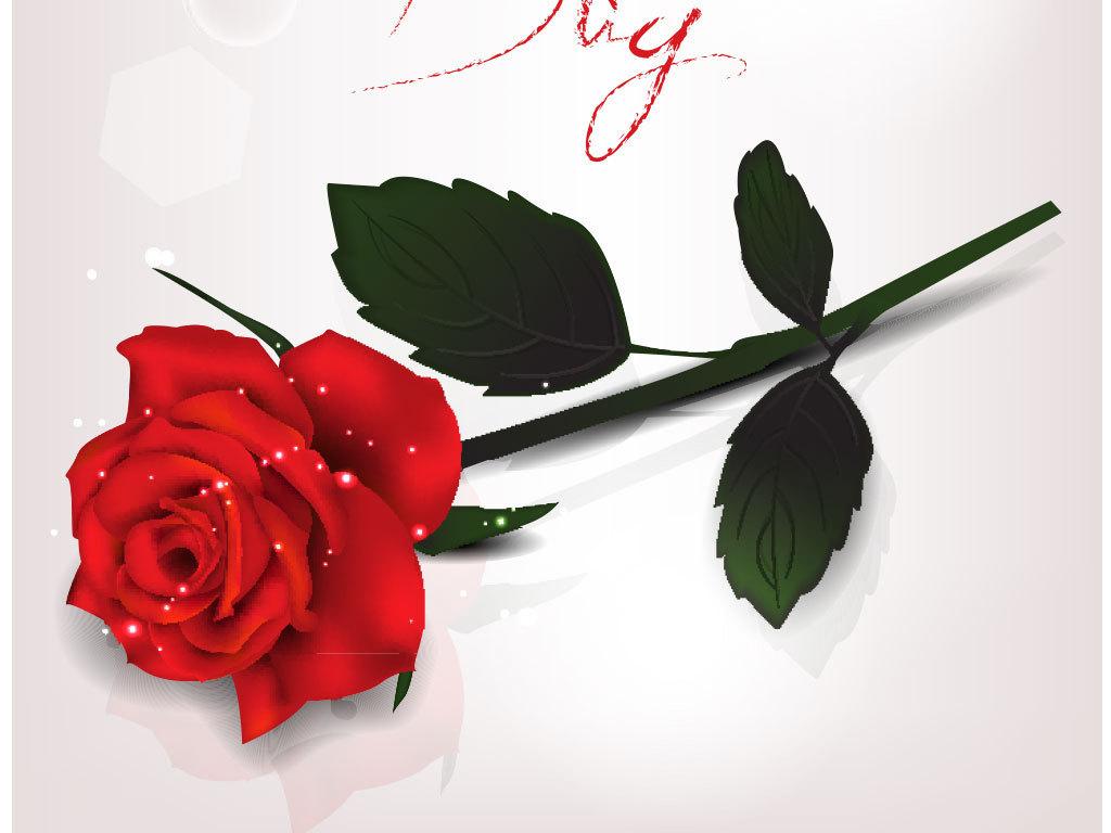 卡通手绘鲜花花朵底纹背景图