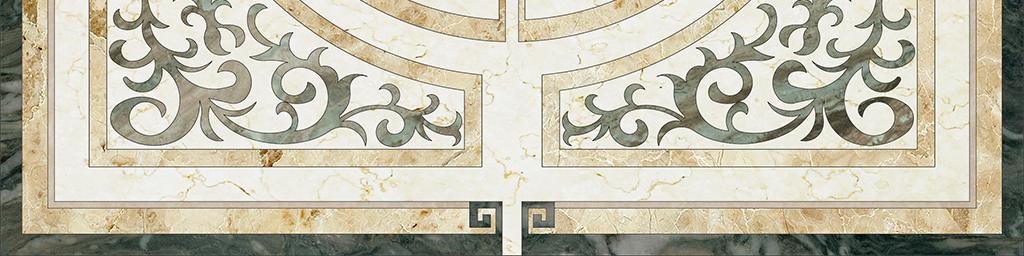 图形地板图样地面装饰地板拼花水刀拼花大理石拼花中式拼花背景花纹图片