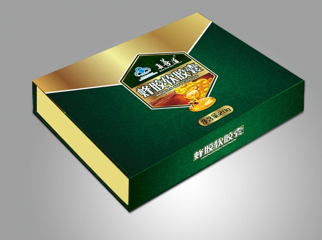 蜂蜜包装盒设计设计图