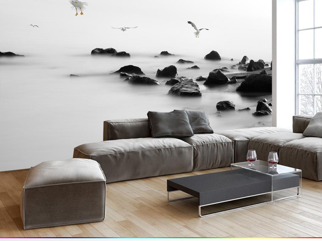 黑白家具设计手绘图