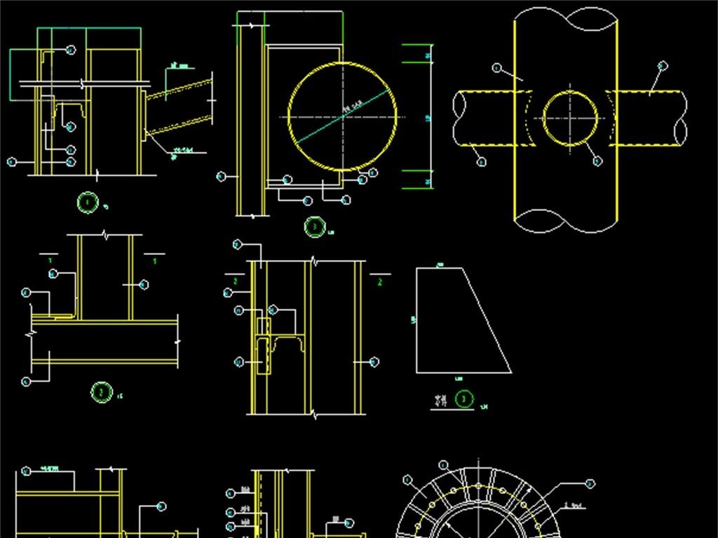 点线面平构设计图展示