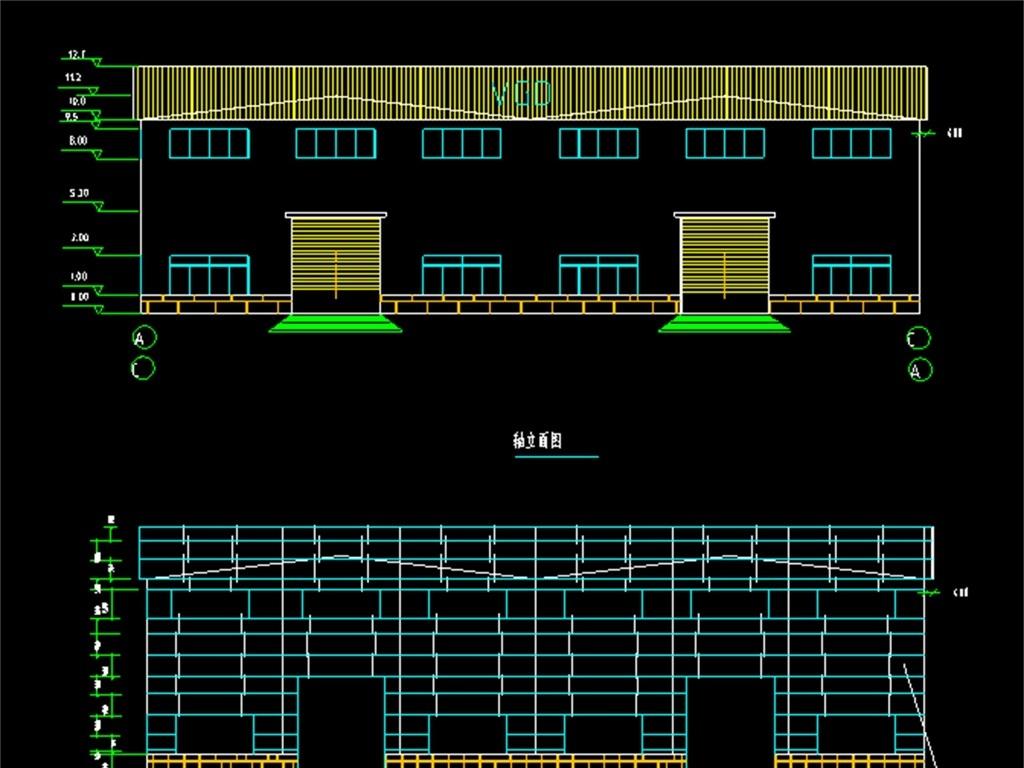 我图网提供精品流行钢结构厂房CAD设计图素材下载,作品模板源文件可以编辑替换,设计作品简介: 钢结构厂房CAD设计图,,使用软件为 AutoCAD 2006(.dwg) 厂房钢结构CAD施工图 钢结构CAD厂房设计 厂房钢结构CAD设计 厂房CAD施工图 钢结构CAD施工图 厂房CAD建筑施工 厂房CAD结构图 厂房 设计图 钢结构厂房