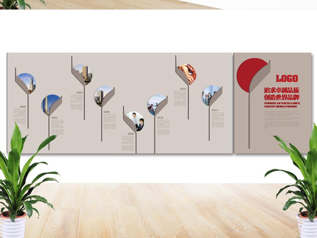 平面|广告设计 展板设计 企业文化墙 > 创意企业文化墙图片