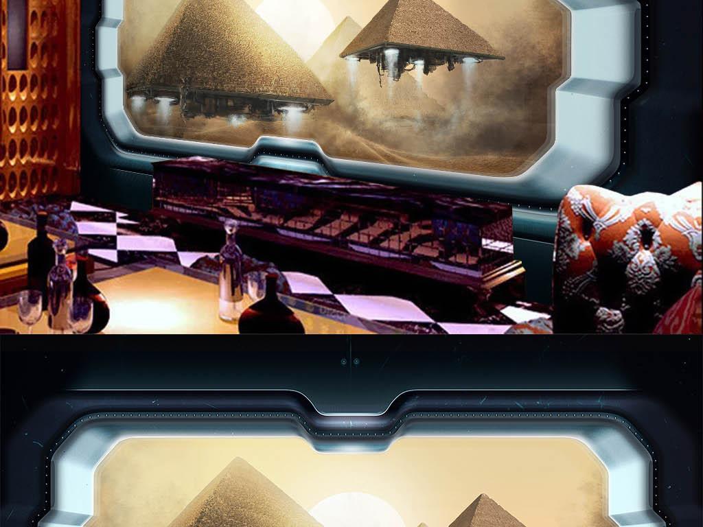 我图网提供精品流行3D宇宙飞船窗外金字塔飞行器工装背景墙素材下载,作品模板源文件可以编辑替换,设计作品简介: 3D宇宙飞船窗外金字塔飞行器工装背景墙 位图, RGB格式高清大图,使用软件为 Photoshop CS6(.tif不分层) 飞船 窗口