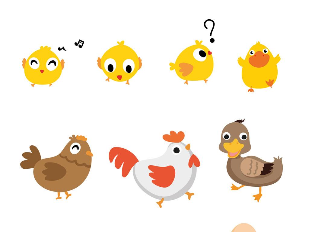 我图网提供精品流行可爱卡通小鸡卡通鸡蛋素材下载,作品模板源文件可以编辑替换,设计作品简介: 可爱卡通小鸡卡通鸡蛋素材 矢量图, CMYK格式高清大图,使用软件为 Illustrator CS2(.eps) 卡通