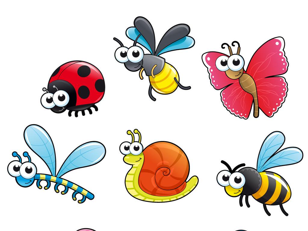 我图网提供精品流行可爱卡通小动物卡通昆虫素材下载,作品模板源文件可以编辑替换,设计作品简介: 可爱卡通小动物卡通昆虫素材 矢量图, CMYK格式高清大图,使用软件为 Illustrator CS2(.eps) 卡通