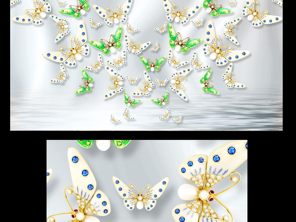 梅花珠宝设计手绘图分享展示