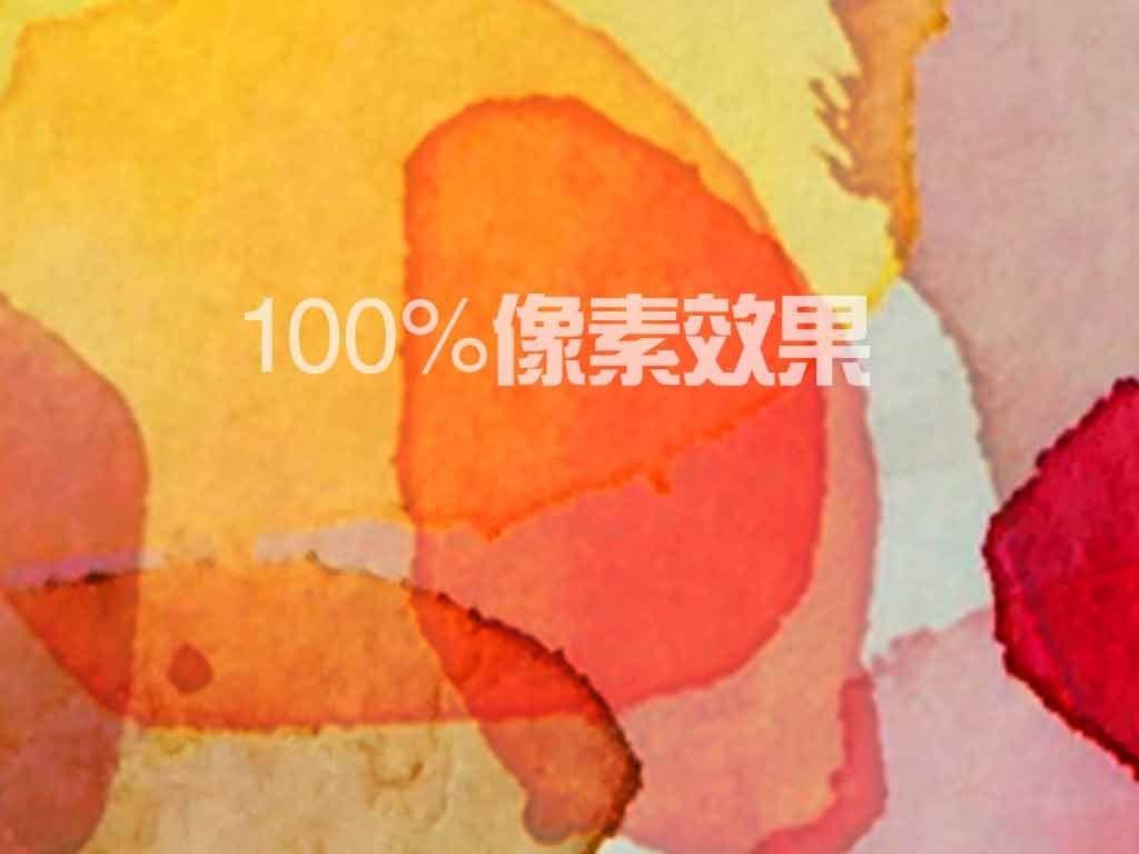 欧式炫彩色块现代抽象油画装饰画