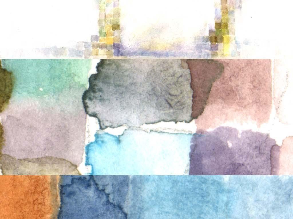 超高清创意唐三彩手绘水彩仙马下凡装饰画