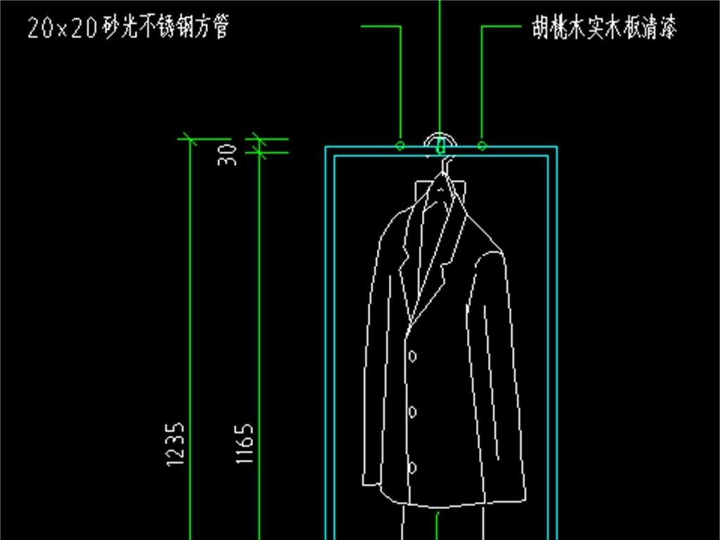 服装道具cad设计图