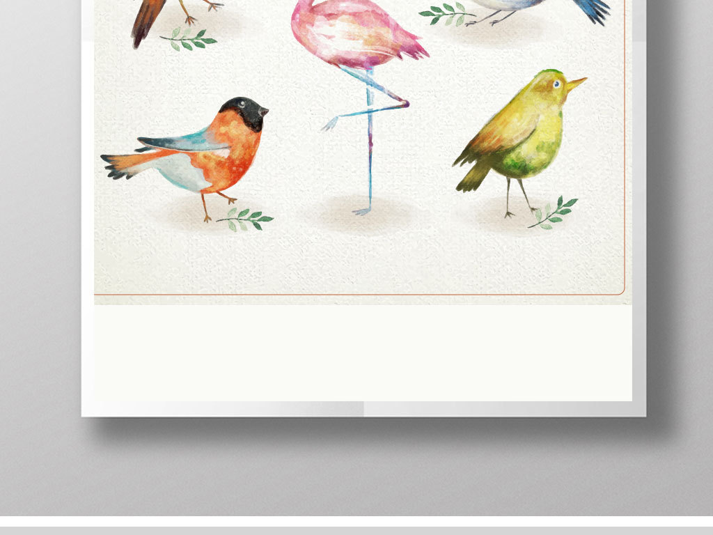 喜鹊手绘小鸟手绘人物手绘背景手绘墙手绘背景墙水墨小鸟