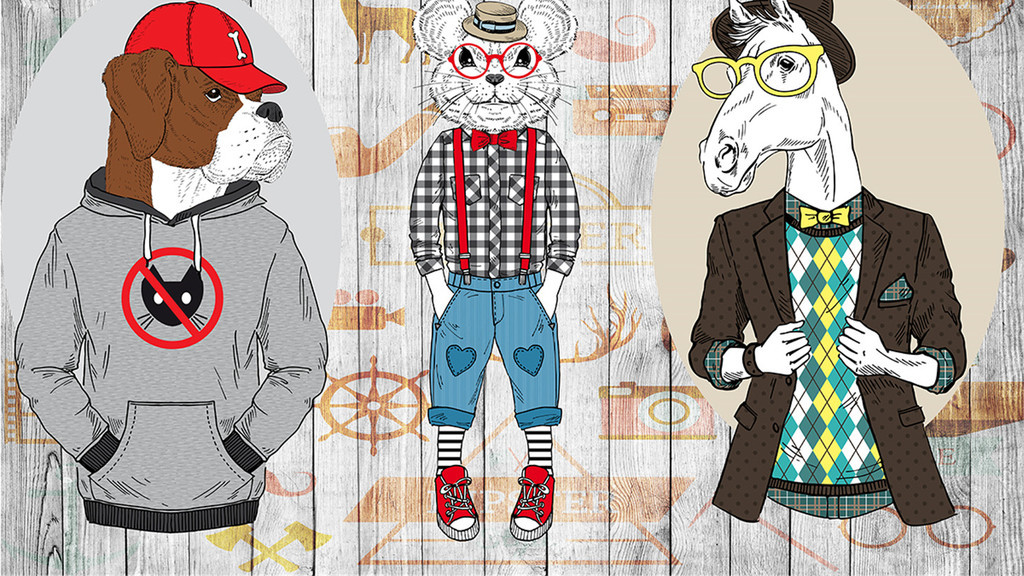 动物复古背景抽象背景复古怀旧服装店复古抽象抽象动物怀旧背景抽象